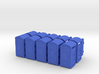 S Scale portpot SWF x10 3d printed