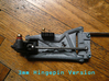 B4 Dyna Blaster / TR-15T Rear Suspension Arm 3d printed 3mm Hingepin Version