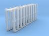 N Scale 10 Metal Detector Walkthrough Gates 3d printed