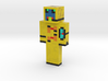 couragetuba | Minecraft toy 3d printed