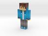 Skin43   Minecraft toy 3d printed