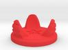Hourglass base (demonic version) 3d printed