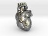 Human Heart Pendant 3d printed