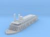 1/1200 USS Rattler 3d printed