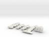 QSR Package: TFN versus KON (Sprued) 3d printed