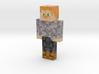 shibu07   Minecraft toy 3d printed