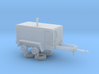 1/64th Ingersoll Rand Type Air Compressor Trailer 3d printed
