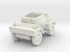 Daimler Dingo mk1 (open) 1/100 3d printed