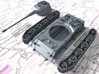 1/87 (HO) German Pz.Kpfw. Löwe VK70.01 (K) Tank 3d printed 3d render showing product parts