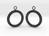 RW Earrings 3d printed