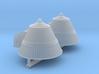 SPACE 2999 1/93 SILO CAPS 3d printed