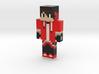Spidersid   Minecraft toy 3d printed