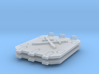 Crossed Swords Jericho Tank doors 3d printed