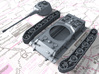 1/144 German Pz.Kpfw. Löwe VK70.01 (K) Heavy Tank 3d printed 3d render showing product parts