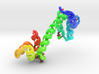 Calmodulin Complexed with Ca+2 (Large) 3d printed