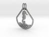 Celtic Zodiac Seahorse 3d printed