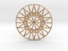 Bulbs Wheel Pendant 3d printed