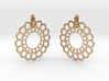 Rings Earrings 3d printed