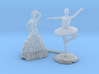 S Scale Dancers 3d printed  This is render not a picture