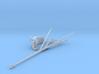 1/96 DKM Bismarck Rear Flag Mast KIT 3d printed