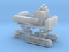 1/87th Carlton Type Tracked Stump Grinder 3d printed