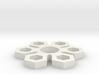Snowflake Spinner 3d printed