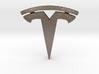 Tesla pendant 3d printed