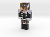 Gamertass | Minecraft toy 3d printed