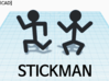 [1DAY_1CAD] STICKMAN_RUNNIG 3d printed