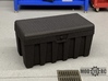 Tuff Box Base (Full Depth) 3d printed Shown with Lid (Purchased Separately)