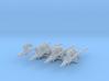 4x Roto Halberd: Phoenician - Chaos Set 3d printed