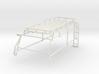 Orlandoo D110 roof rack w/ rear ladder for widebod 3d printed