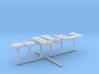 1/144 IJN Yamato Bridge Structure Platforms Part 5 3d printed