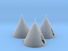 N Scale Teepee's 3d printed This is a render not a picture