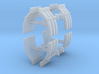 1/64th Truck Quarter Fenders ribbed, 4 sets 3d printed