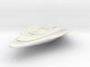 "Federation Dalta Class II  Destroyer V2  4.2"" 3d printed"