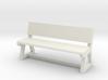 Concrete Bench 3d printed