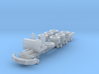 CAT CT660 Chassis 3 axle 1-87 HO Scale 3d printed