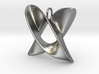 Hats - Pendant in Cast Metals 3d printed