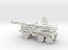 1/144 Thornycroft Amazon recovery crane 3d printed
