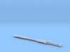 1:6 Kili Sword - LOTR 3d printed