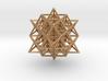 64 Tetrahedron Grid 2 cm. 3d printed