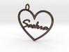 "Key Tag ""Saskia"" 3d printed"