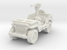 Jeep Willys 30 cal (window down) 1/120 3d printed