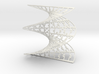 Jigsaw Pattern Helicoid 3d printed