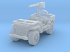 Jeep Willys 50 cal (window down) 1/285 3d printed