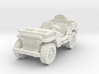 Jeep willys (window down) 1/56 3d printed