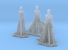 HO Scale Long Dress Females 3d printed This is a render not a picture