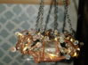 1:12 Antler Chandelier 1 3d printed Created by Lavishouse Miniatures