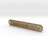 LINDENSTRAßE keychain 3d printed